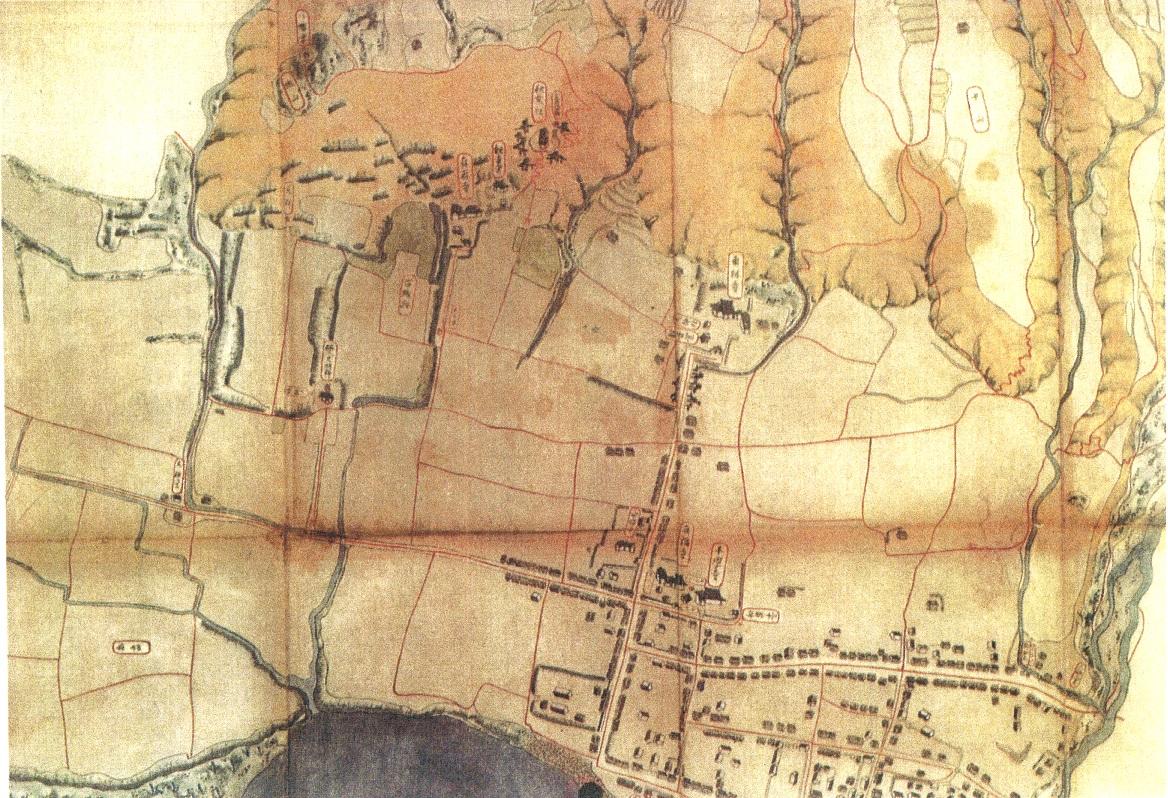 【古地図と歩く城下町】脇城城下町と5宗派めぐり