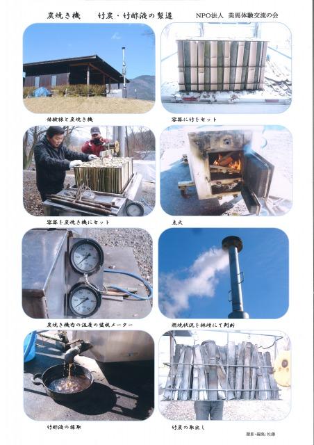 美馬市の竹で竹炭&竹酢液づくり(お土産付き)