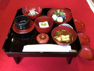 本楽寺精進料理