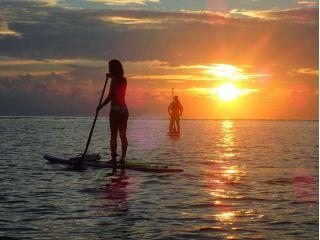 【サンライズツアー|SUP&シュノーケル】★宮古島の朝日を見ながら海上散歩★写真データ付き!