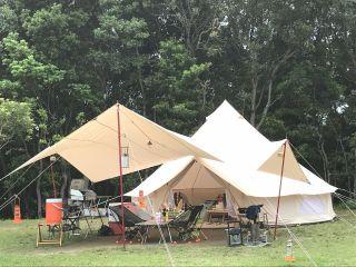 画像はてぶらキャンププランのイメージです。すべてのキャンプ用品が付いているわけではございませんのでご注意ください。