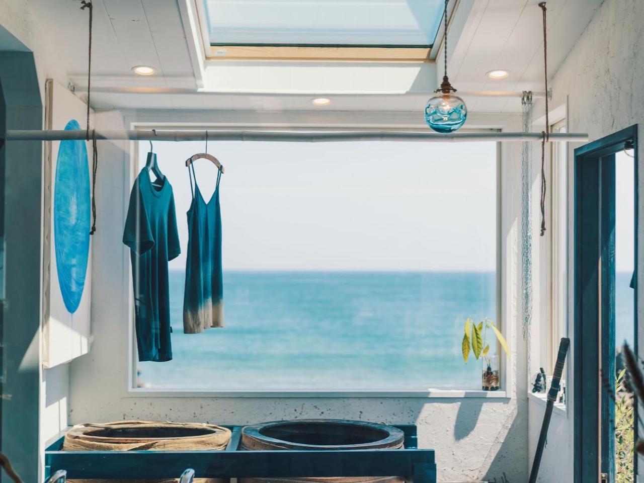 ◆*ティータイム付き*◆空と海を一望できるStudioで徳島県伝統の藍染体験♪♪