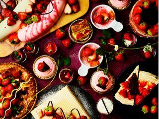 ≪4F ザ・テラス≫【1/8〜5/9の金土日祝、※4/29〜5/9は毎日開催!】ストロベリーデザートブッフェ !2021年もイチゴを心ゆくまでお楽しみください♪