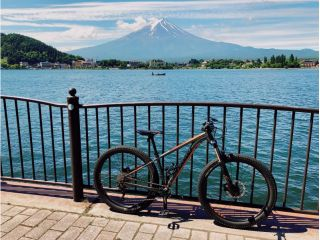 富士五湖で一番人気の河口湖をMTBでゆっくり周遊!