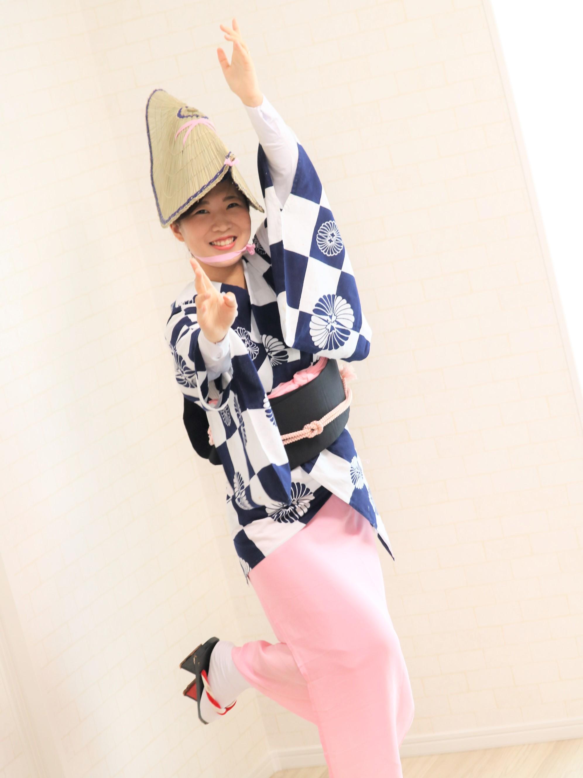 着て踊らにゃそんそん♪徳島阿波おどり衣装着付け体験【リクエスト受付 女性限定】