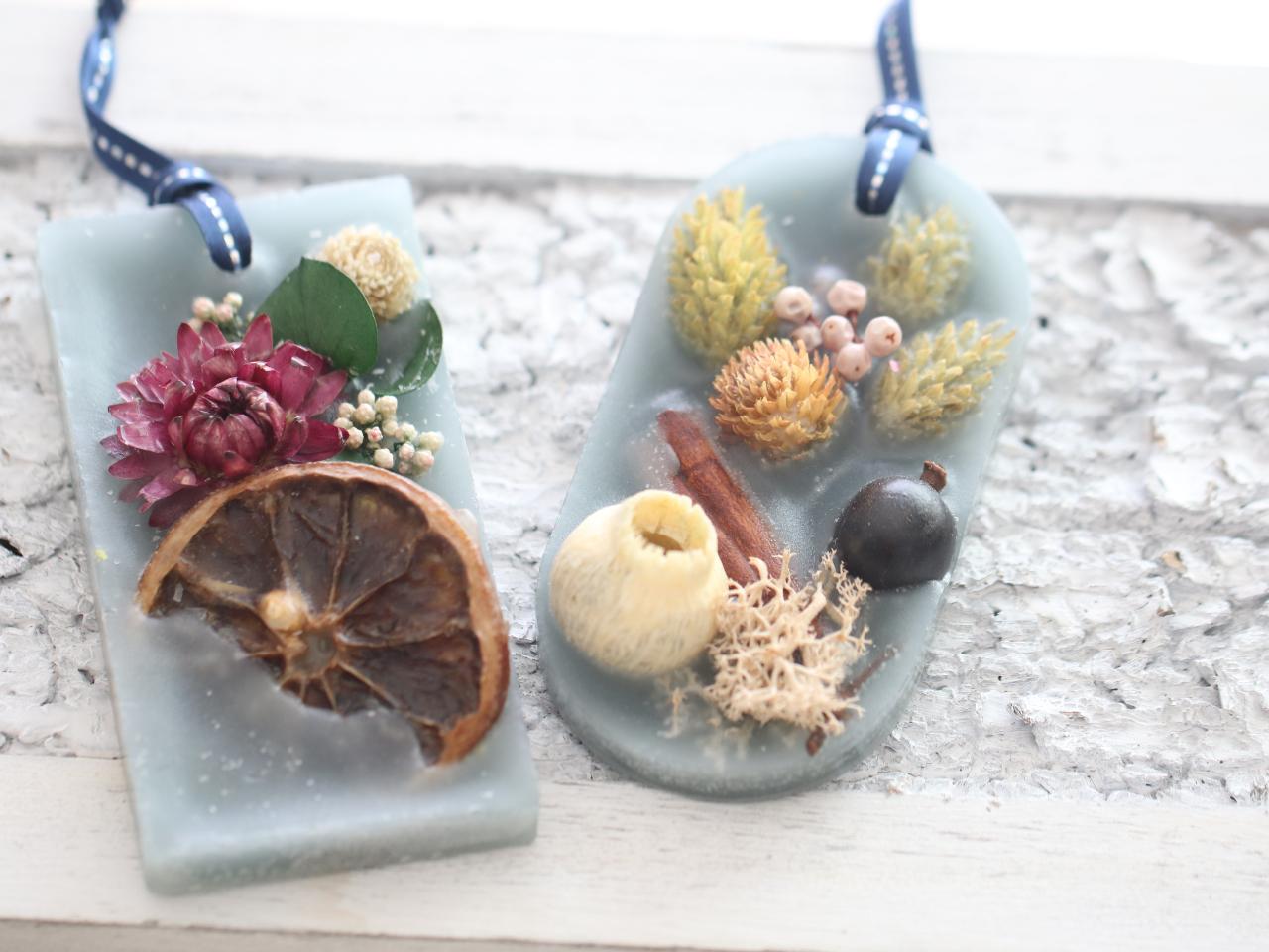 【徳島 鳴門】藍のアロマワックスバー作り 壁掛飾りに芳香に アロマオイル付き
