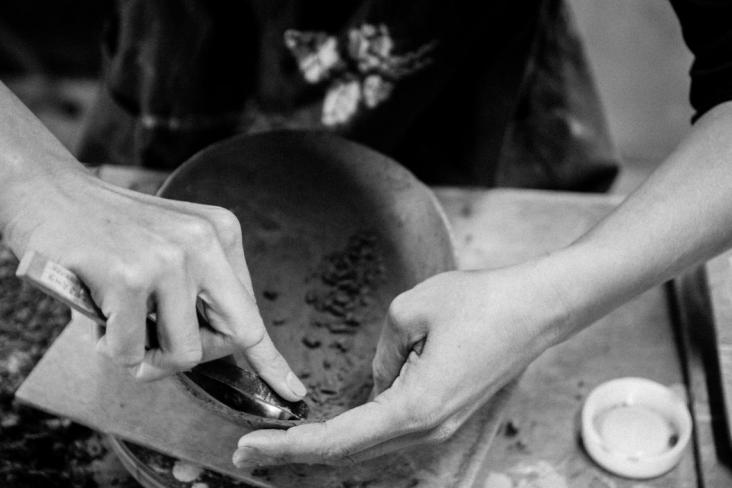 【舟形焼・陶芸体験】手びねり2時間コース★《ファミリー・カップル・女性におすすめ...