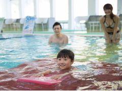【室内温水プール】お子様大喜び♪