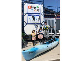 子どもから大人まで初心者で手軽に楽しめるシーカヤックです。徳島市内にあるので、アクセスも簡単♪
