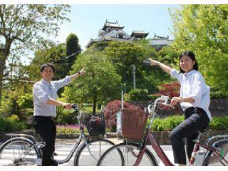 福知山駅北口すぐ!【★1日レンタサイクル 電動自転車プラン】自転車でスイスイ♪明智光秀が築いた城下町、福知山をぐるっとめぐるプラン♪