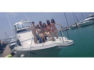 【チービシ・宜野湾】半日クルーザーボートチャーターで海遊び♪