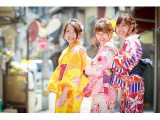 人気No.1 【女性着物・浴衣レンタルプラン】可愛い着物・浴衣で宮島を散策。女子旅、卒業旅行、修学旅行にもおすすめ!インスタ映え間違いなし!手ぶらでお越しください。