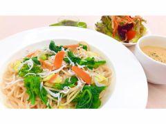しらすと春野菜のスパゲッティー