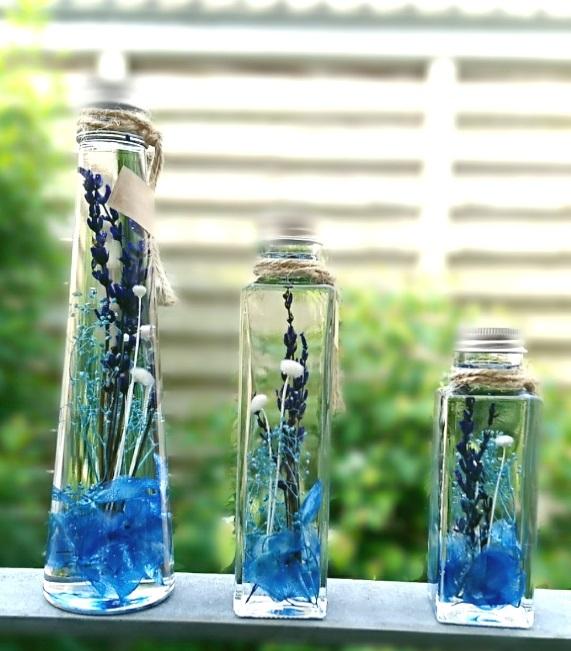 ★徳島市×ハーバリウム体験★100ml瓶×2本ハーバリウム制作♪好きな花材選び放...