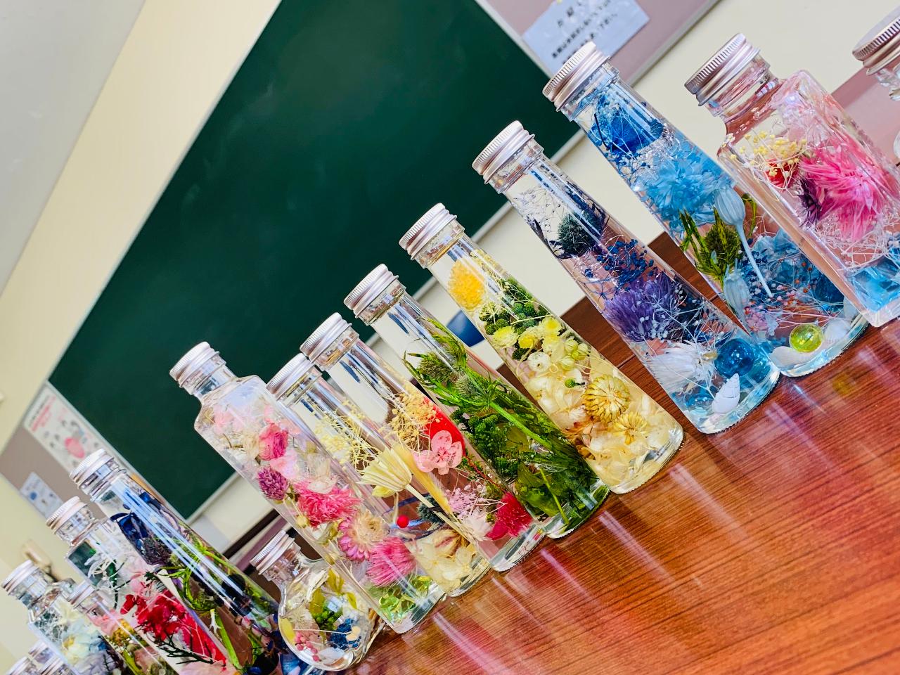 【ハーバリウム&ハーバリウムボールペン】選べる花材で、オリジナルデザインを作ろう...