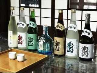 明治18年創業の130年続く酒蔵。神域に双耳する多宝の清らかな湧き水と地元の良質な酒米により造られる銘酒が味わえる