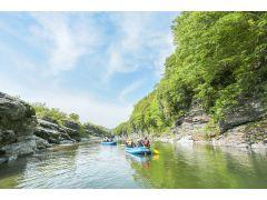 フォトジェニックな渓谷で川の旅へGo!大自然のなかでマインドフルな時間!