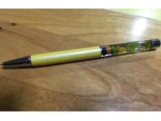 ハーバリウムボールペンです。