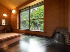 「銀の湯」 男女時間帯別&貸切風呂 貸切風呂:日帰り温泉でもお食事付きプランでご利用可能です。