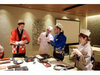 【ファミリーにおすすめ】『寿司体験』プラン・食事付き