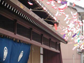 宿場回廊を代表する国登録有形文化財「旧宮崎酒造」からスタートします。