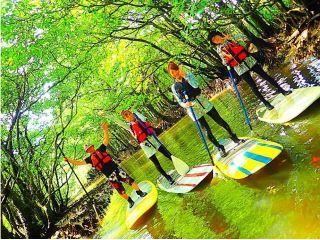 【西表島】地域共通クーポンOK!a12.マングローブSUP・滝&パナリ島・ヨットクルーズ+シュノーケリング【写真データ無料】