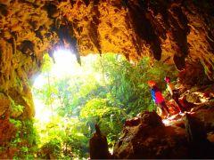 西表島マングローブSUP(サップ) &ジャングルトレッキング秘境のパワースポット巡り&ケイビング(鍾乳洞探検)
