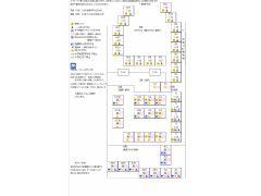 座席表(即時予約でも番号指定された場合、ご希望の座席が予約済の場合があります)