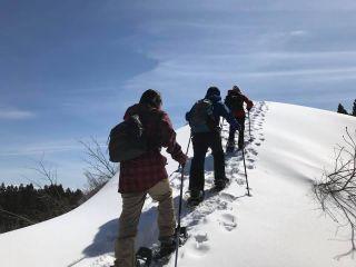 【地域共通クーポン対象】新潟・十日町|手軽に雪山を冒険!スノーシュートレッキング & デイキャンプ