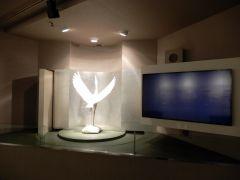 第1展示室 「湯浴みする鶴」 かみやま温泉の発祥を紹介