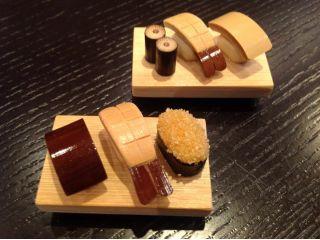 画像以外の寿司ネタも豊富にご用意しております。お好みの寿司をお作りください。