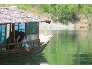 屋形船に乗って仁淀ブルーを満喫プラン 〜カップル・女性・ファミリーにオススメ♪〜