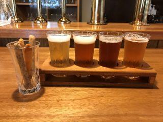 クラフトビール飲み比べ+勝太郎スティック