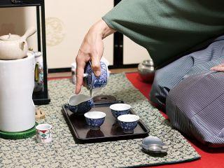《各回一組限定》 煎茶道体験『煎茶席&茶香服』コース