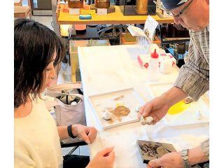伝統工芸加飾&革小物仕上げ体験 【ふくのね】