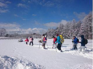 木曽馬の里からはお天気が良ければ雄大な御嶽山の絶景が楽しめます。