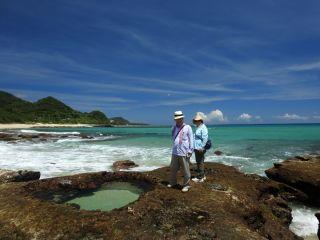 奄美大島の名所『ハートロック』も見れます♪