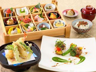 季節の味覚がつまった和食ランチをお楽しみに♪(※写真はイメージです。)