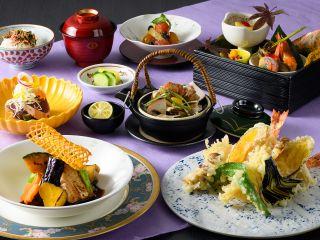 秋の味覚がつまった和食ランチ『楽味会席』をお楽しみに♪(※写真はイメージです。)
