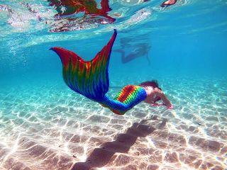 足がつくポイントからスタートするので泳ぎが苦手な方でも安心♪