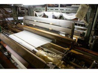 羽二重織工場見学です。