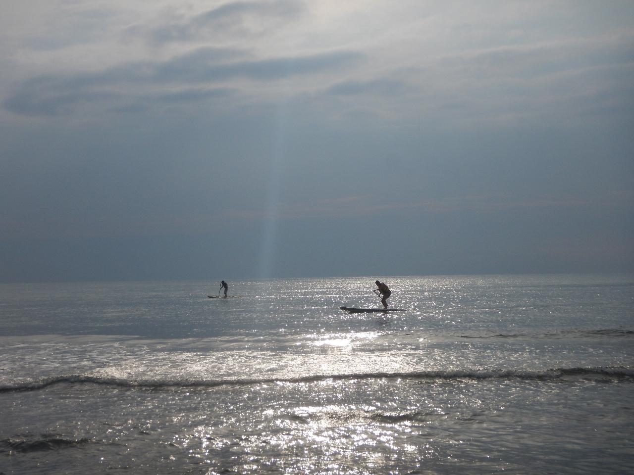 【山形市内発!】海まで行ってSUP体験 ♪(120分))ファミリー・カップル・友...