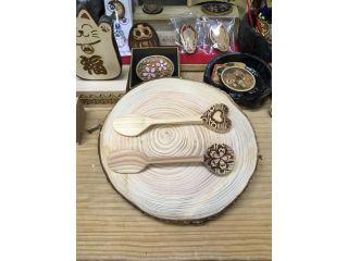 【静岡・三島】お子様でも簡単♪ご自宅でも使える作品を作ろう!〈木のスプーン作り〉