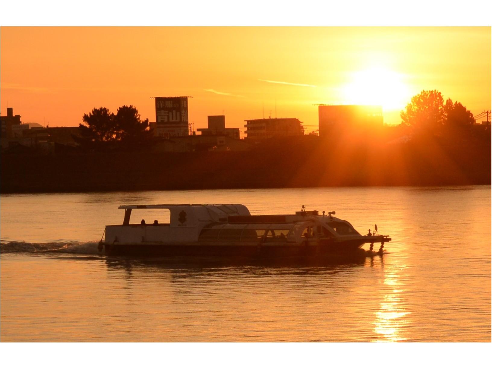 コロナ対策中【船上で見る夕日はさらにロマンチック♪★サンセットクルーズ】~★新潟...