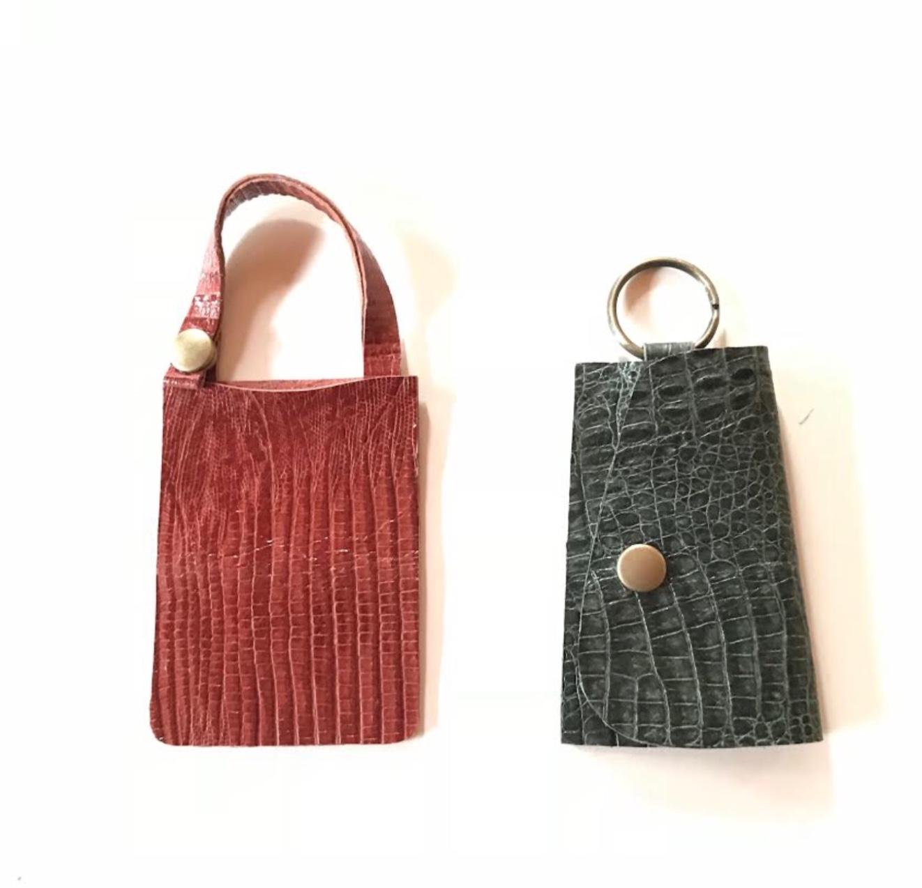 〈京都・八幡〉靴づくりの工房で 【革小物作り体験!~パスケース、キーケース、コイ...