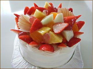 34デコレーションケーキ