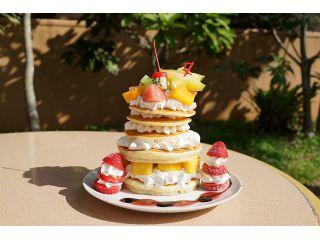 王国だけのスペシャルスイーツ 「絵本の国のホットケーキ」が付いたお得なプラン!