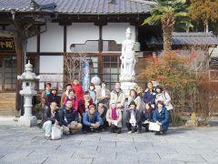 松島・天麟院。伊達政宗公の長女、五郎八姫(いろはひめ)の菩提寺。
