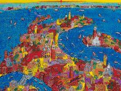 現在は絹谷幸二の軌跡を辿る、「ARS VITA ESTA 藝術は人生~色彩画家の軌跡~」を開催中