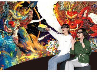 絵の中に飛び込む!大迫力の3D映像が楽しめる体験型ミュージアム